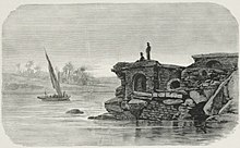 River Wall on the Damietta Arm of the Nile (1878) - TIMEA.jpg