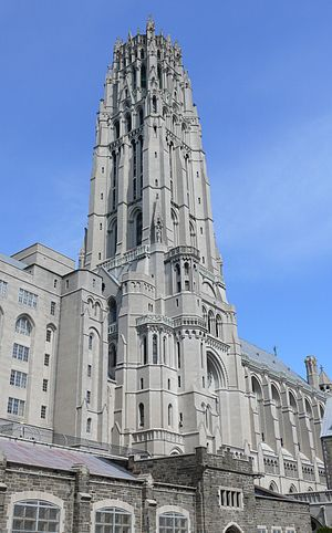 American Baptist Churches USA - Historic Riverside Church (1930) in Upper Manhattan retains its association with ABCUSA.