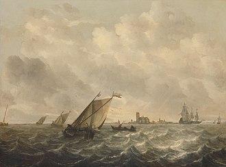Abraham van Beijeren - River view