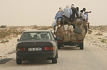 Mauritania-Ould Taya's rule (1984–2005)-Road from Nouakchott to Mauritanian