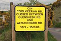 Road sign near Armoy - geograph.org.uk - 796227.jpg
