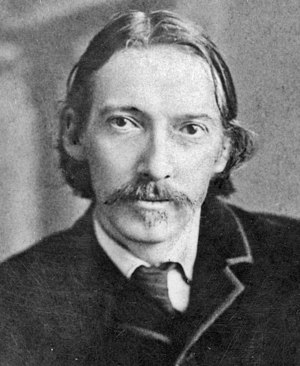 photograph of Robert Louis Stevenson