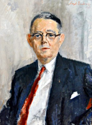 Robert B. Chiperfield - Oil painting of Robert B. Chiperfield by Lloyd Embry, 1961 (Collection of the U. S. House of Representatives).