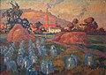 Robert Antoine Pinchon, 1921, Le Jardin maraicher, oil on canvas, 74 x 100 cm, Musée des Beaux-Arts de Rouen..jpg