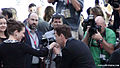 Robert Downey Jr Kisses Susan's Hand at TIFF (14960238530).jpg