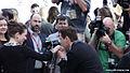 Robert Downey Jr Kisses Susan's Hand at TIFF (14960238530).jpg