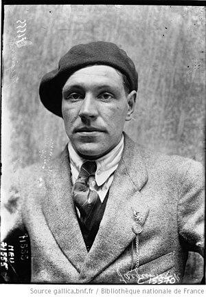 Robert Jacquinot - Image: Robert Jacquinot Paris Roubaix 1919