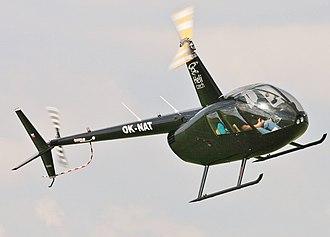 Robinson R44 - An R44 from the Czech Republic