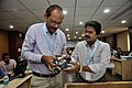 Robot Testing Session - Workshop on Organising Indian and World Robot Olympiad - NCSM - Kolkata 2016-03-08 2343.JPG