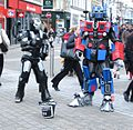 Robotic Street Entertainment - Briggate (geograph 4350218).jpg