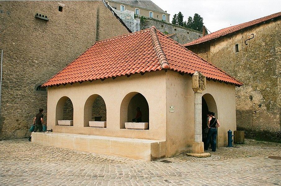 Rodemack, the historical washhouse