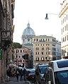 Rom, die Straße Corso Vittorio Emanuele II, Ostteil, Bild 2.JPG