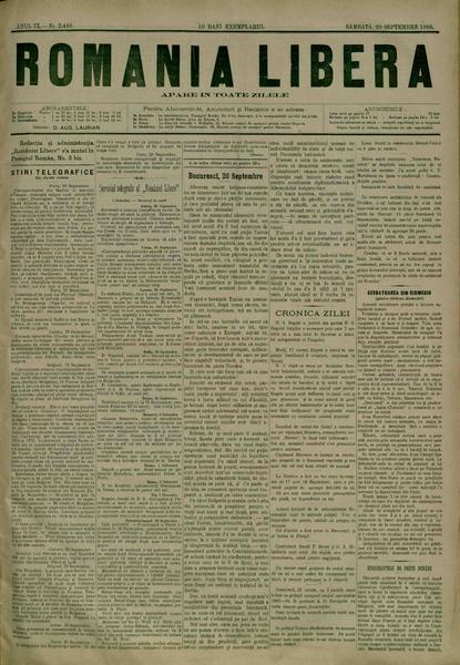 File:România liberă 1885-09-20, nr. 2448.pdf