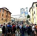 Rom – Via die Condotti - Piazza di Spagna - Santa Trinità dei Monti - panoramio (1).jpg