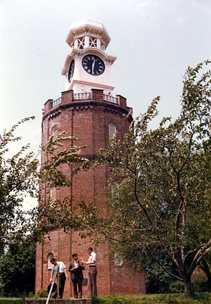 History of Rome, Georgia - The clock tower