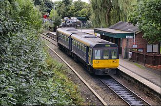 Marple, Greater Manchester - Rose Hill Marple railway station