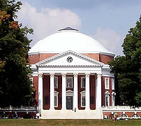 The University of Virginia, designed by Thomas...