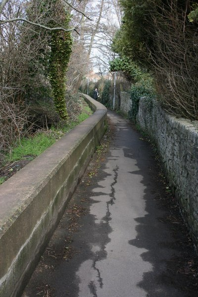 File:Roughmoor path, Taunton. - geograph.org.uk - 1196326.jpg
