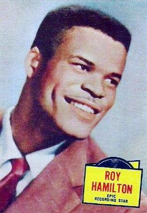 Roy Hamilton - Hamilton in 1957.