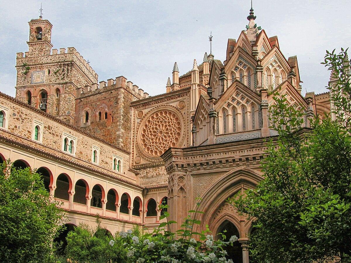Real Monasterio de Santa María de Guadalupe - Wikipedia, la enciclopedia libre