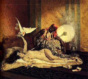 Ferdinand Roybet - Image: Roybet Odalisque