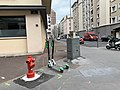 Rue Vauban (Lyon) - Mars 2019 - mobilier urbain et vue sur la rue de la Tête d'Or.jpg