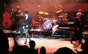 Rufus Does Judy at Carnegie Hall - Wainwright, mimicking Judy Garland's appearance in Summer Stock, in 2007