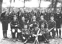 41e9539b18b FC 1880 Frankfurt at the 1900 Olympic Games. Rugby football ...