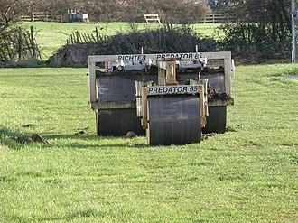 Scrum machine - A well used Predator! PR65 Scrum Machine.