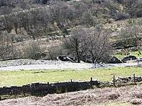 Ruined buildings Bryn-Eglwys Quarry - geograph.org.uk - 392990.jpg