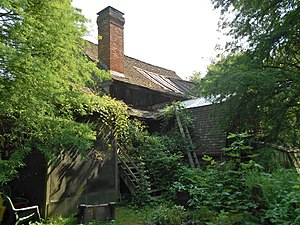 National Register of Historic Places listings in Cecil County, Maryland - Image: Ruined mill in Plumpton Park Zoo 2