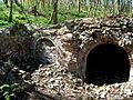 Ruiny kaplicy grobowej w Rzucewie..jpg