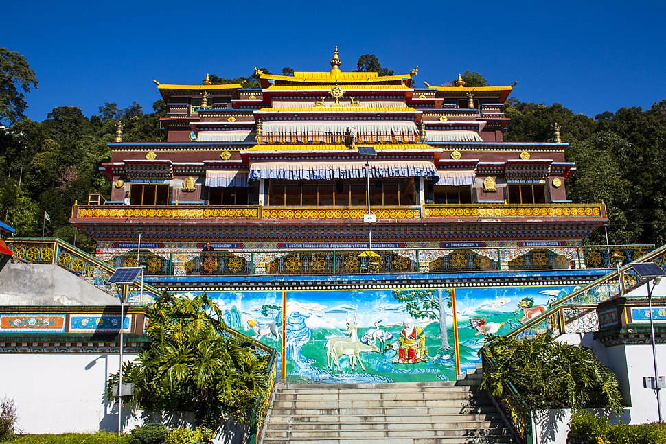 Rumtek Monastery - Inside Close View