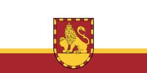 Rundāle Municipality - Image: Rundāles novads Flag