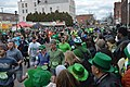 Runners leave the starting line at the 44th annual Holyoke St Patrick's Road Race (2019).jpeg