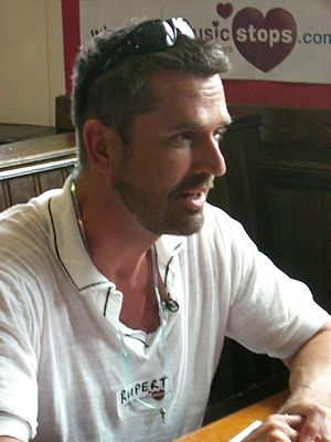 Rupert Everett - Everett at a speed dating event with When The Music Stops, for Channel 4's The Friday Night Project in July 2007