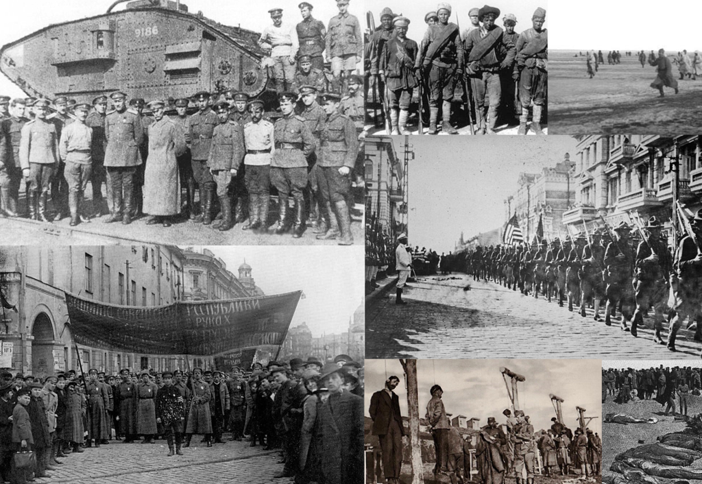 Russian Civil War montage