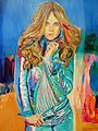 Russian topmodel oilpainting on canvas 68x90cm'12.JPG