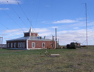 spit in Chukotka, Russia