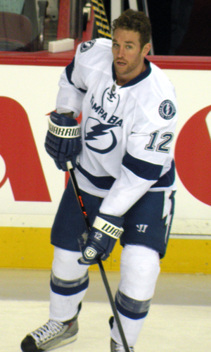 Ryan Malone - Malone as a member of the Lightning