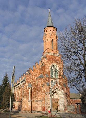 Rechytsa - Holy Trinity Catholic church