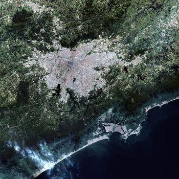 São Paulo Landsat (fotografia de satélite)
