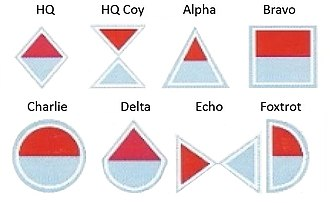 South African Army Air Defence Artillery Formation - SANDF anti aircraft company emblems