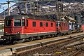 "SBB CFF FFS Cargo Re 620 11629 ""Interlaken"" + Re 420-430 (24745886900).jpg"