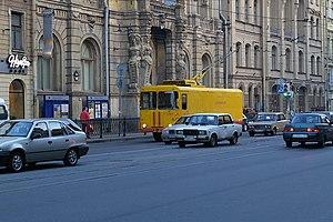 Trolleytruck - Image: SPB freight trolley