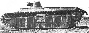 Char B1 - SRA side view