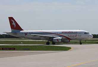 Bacha Khan International Airport - An Air Arabia Airbus A320-200