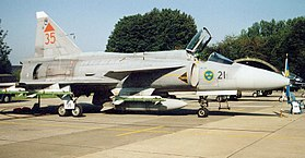 Image illustrative de l'article Saab 37 Viggen