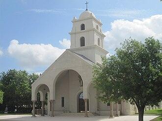 Crystal City, Texas - Sacred Heart Catholic Church in Crystal City