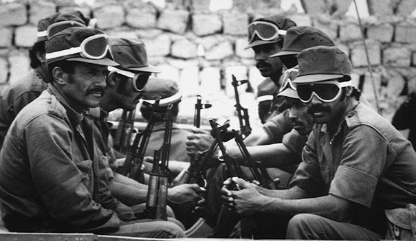 Saharawi soldiers